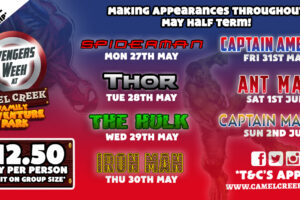 AVENGERS WEEK AT CAMEL CREEK