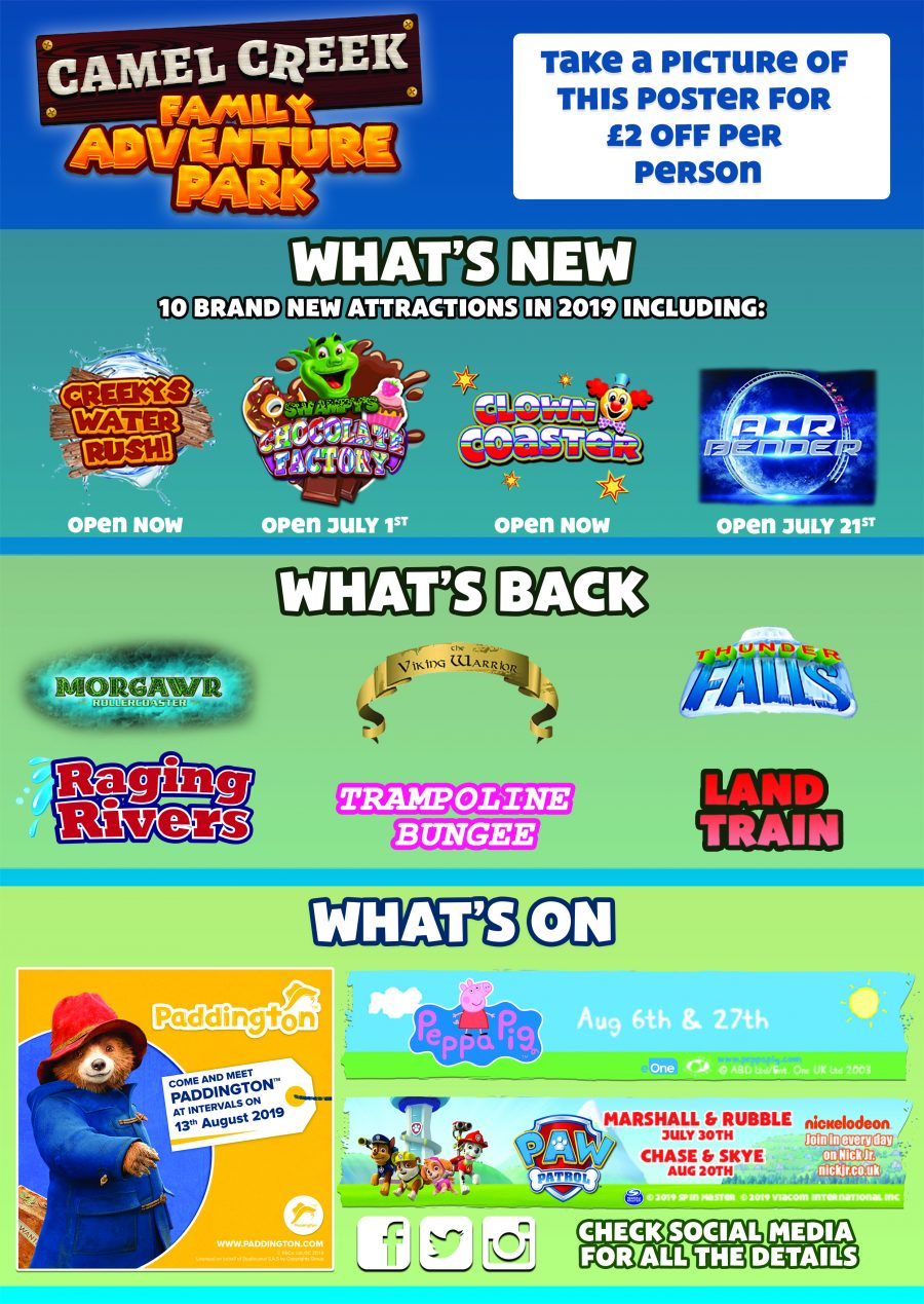WHAT'S NEW, WHAT'S BACK & WHAT'S ON!