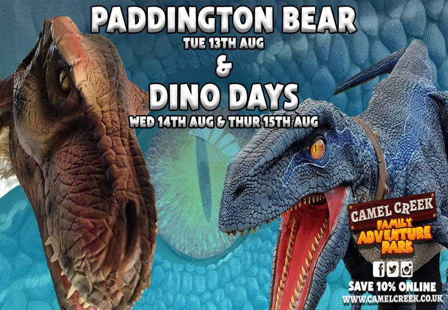 Paddington Bear & Dino Days at Camel Creek