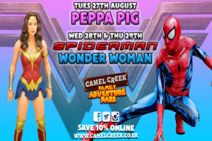 Peppa Pig, Spider-Man & Wonder-Woman