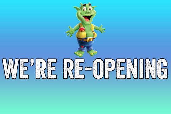 WE'RE OPENING SOON!