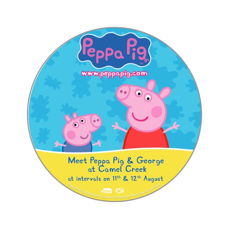 MEET PEPPA PIG & GEORGE!